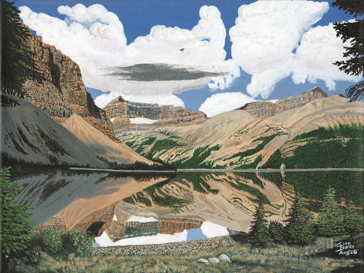 Painting - Bow Lake