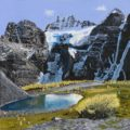 Painting - Early Fall In Larch Valley