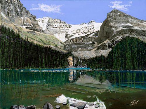 Painting - Lake OHara