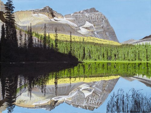 Painting - Mary Lake at Mt Odaray
