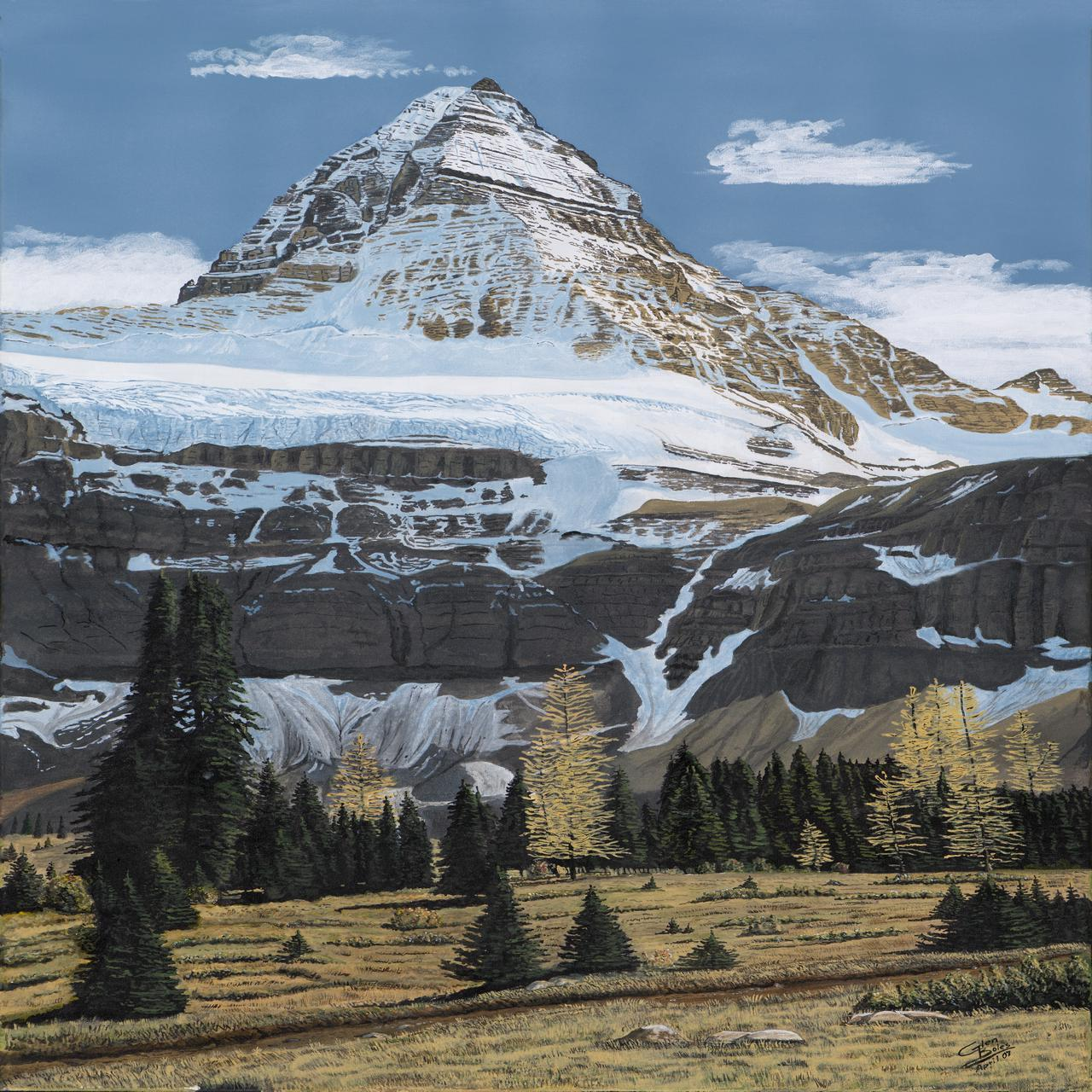 Painting - Mt Assiniboine 2