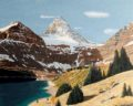 Painting - Mt Assiniboine and Lake Magog