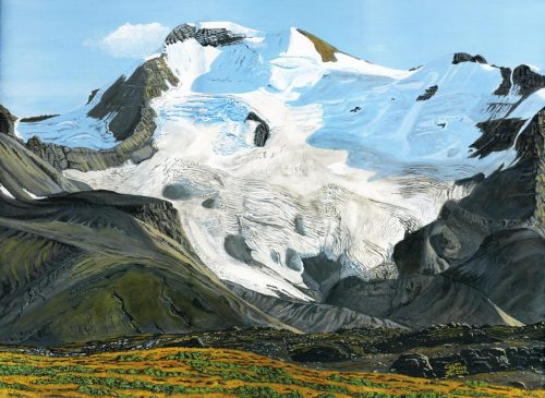 Painting - Mt Athabasca
