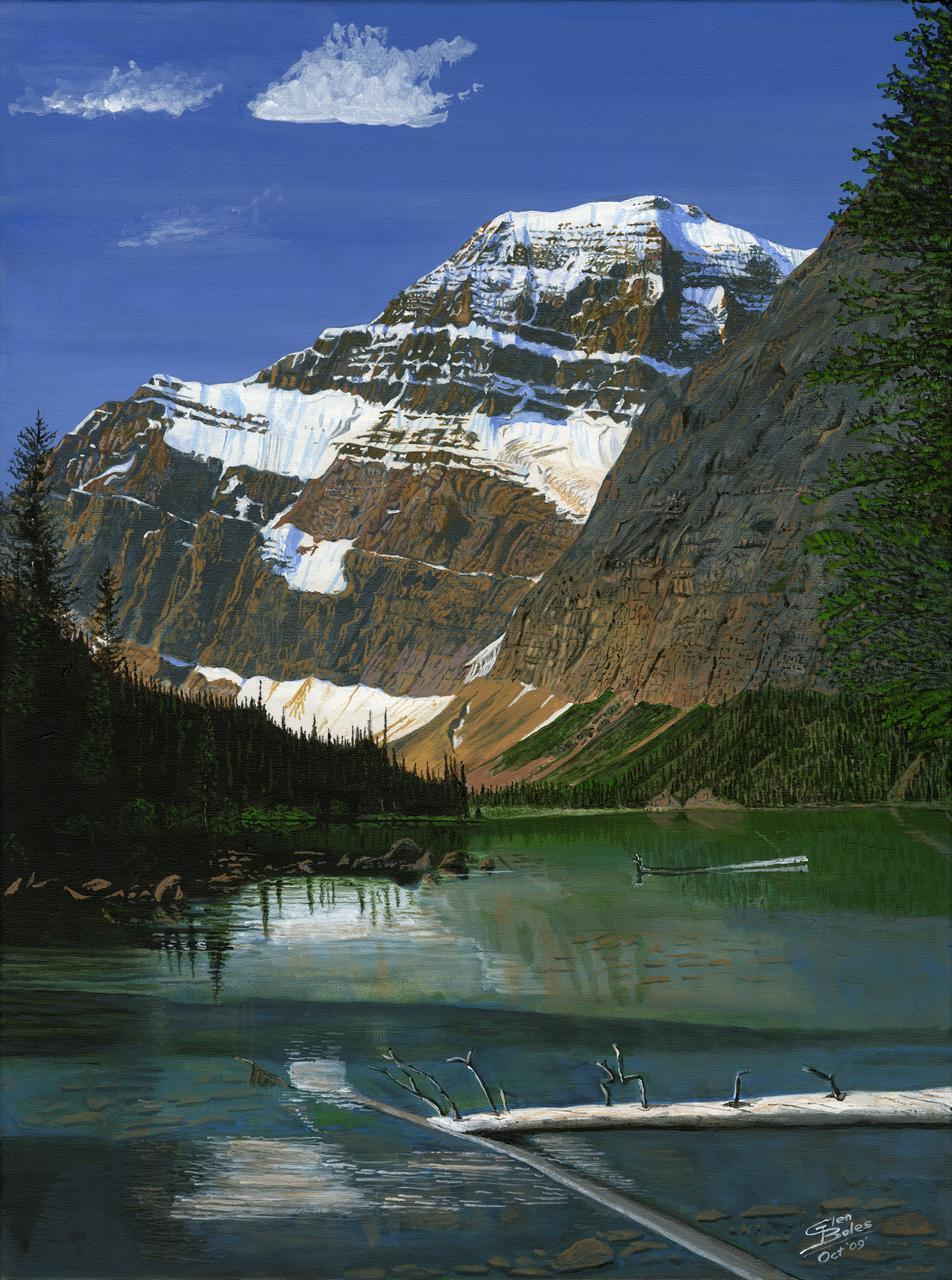 Painting - Mt Edith Cavell