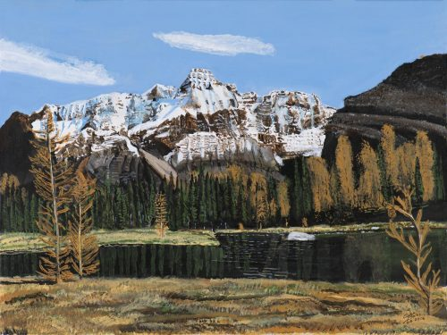 Painting - Mt Huber