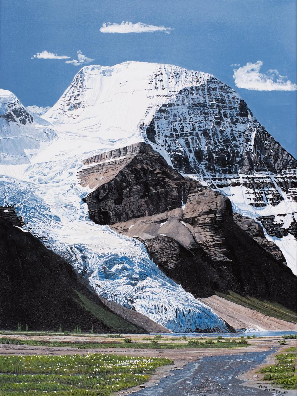 Painting - Mt Robson