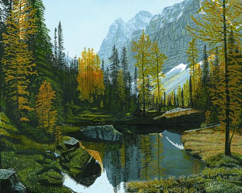 Painting - Opabin Plateau 1