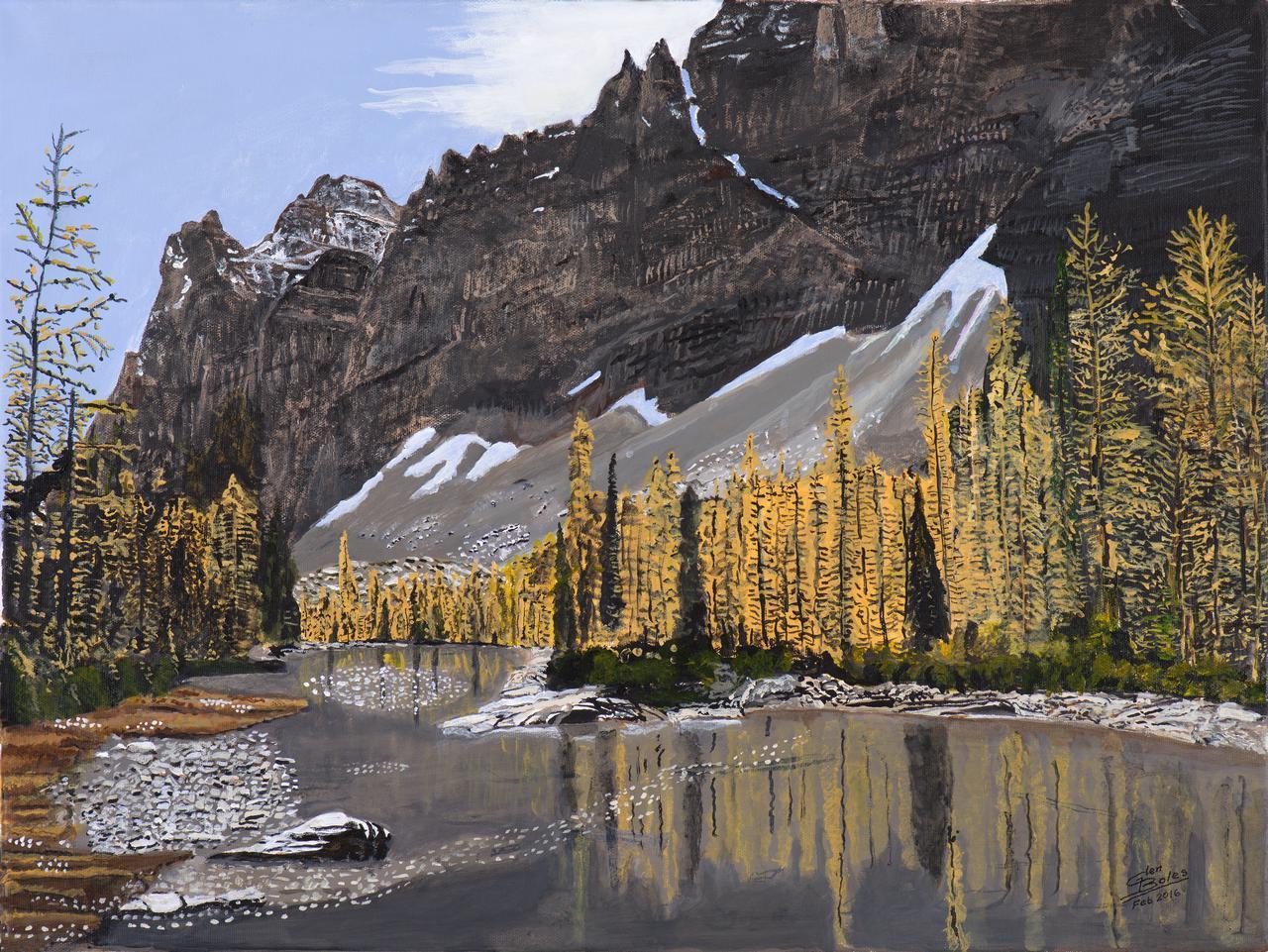 Painting - Opabin Plateau 3