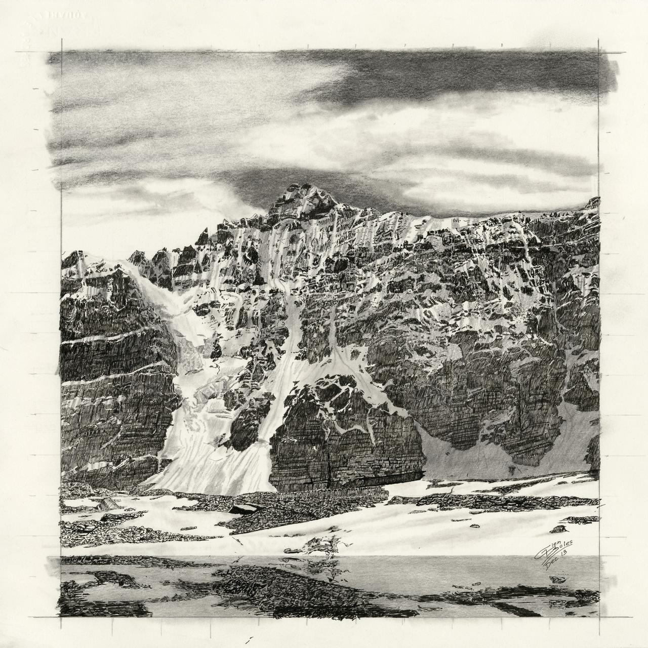 Drawing - Mt Deltaform