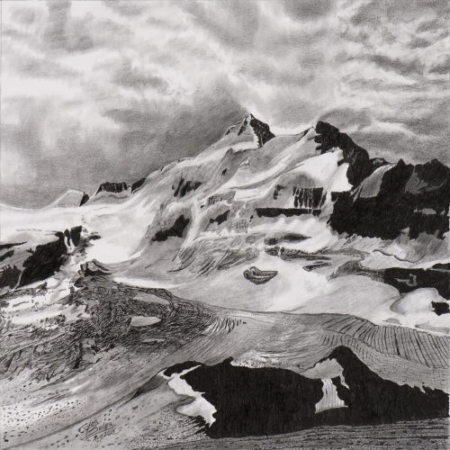Drawing - Mt Balfour 2