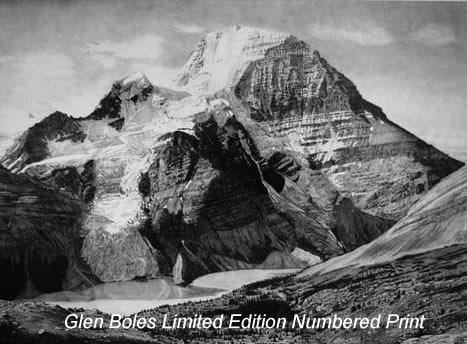 Drawing - Mt Robson 2